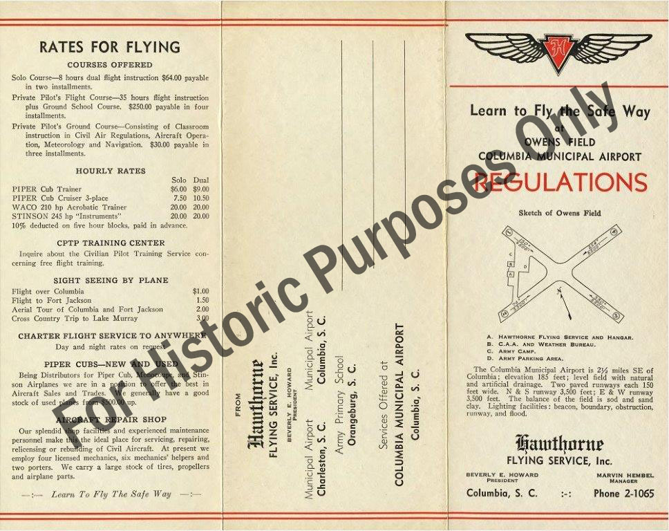 Flight regulations 1